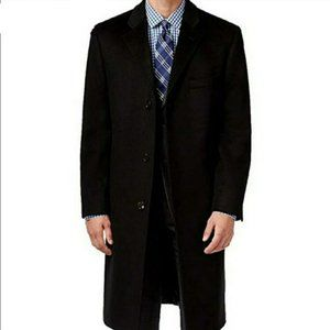 WEATHERPROOF | Charcoal Cashmere Blend Topcoat